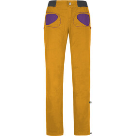 E9 Onda Story - Pantalones Mujer - amarillo